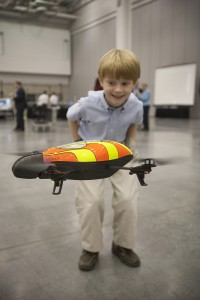 NASA-parrot-drone-and-kid
